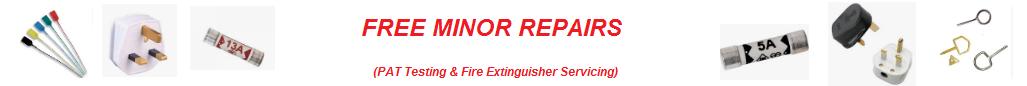 Free Minor Repairs